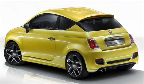 Geneva Show Fiat 500 Coup Zagato Concept Updated