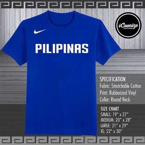 Custom Gilas Pilipinas Tees Shirt Tshirt Basketbal Fiba ...