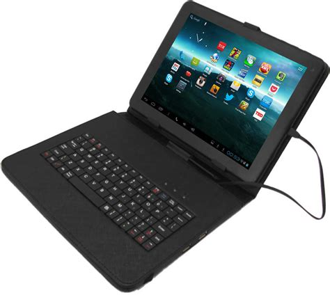 table l with usb port zync tablet keyboard with two usb ports 9 inch to 10 inch