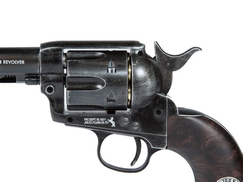 duke colt co2 pellet revolver weathered wayne single 0 177 cal ebay