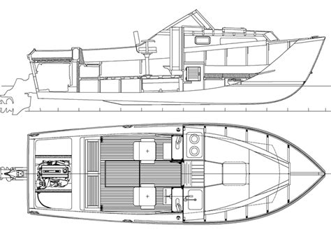 Sport Fishing Boat Blueprints by Getting Small Wooden Boat Plans For Free Aiiz