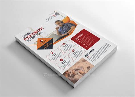 clean flyer design graphic templates   flyer