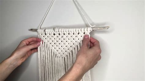macrame wall hanging beginner wall hanging macrame