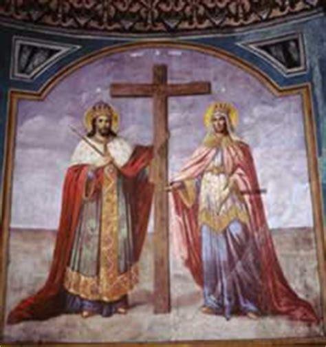 Sarbatoare mare in calendarul ortodox si catolic pe 21 mai. Sfinţii Împăraţi Constantin şi mama sa Elena (21 mai) | Ora de religie