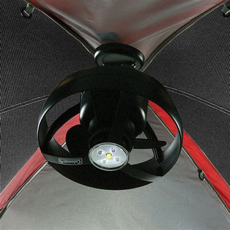 lightweight gazebo ceiling fan coleman cool zephyr tent ceiling fan and led light the