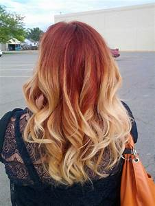 Red Hair With Blonde Ombre Tumblr | www.imgkid.com - The ...