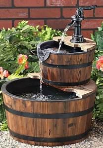 Fabriquer Une Fontaine Sans Pompe : choisir une fontaine de jardin conseils et prix ~ Melissatoandfro.com Idées de Décoration