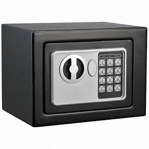 Stalwart Black Electronic Deluxe Digital Steel Safe