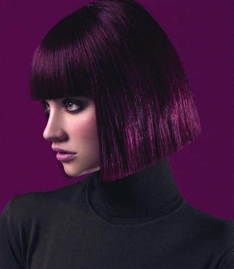 short black purple hairstyles 2015 purple passion