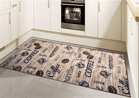 tapis cuisine noir tapis de cuisine moderne pour design unique