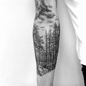 Tatouage Paysage Montagne : 99 amazing tattoo designs all men must see tattoos on men tatouage for t tatouage cerf ~ Melissatoandfro.com Idées de Décoration