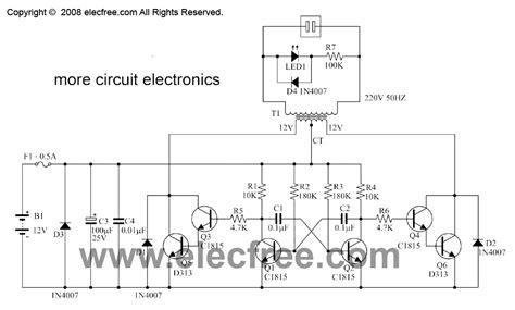 dc  ac converter circuit projects   vac
