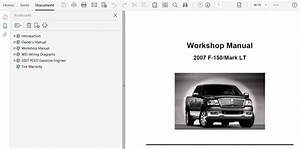 2007 Ford F150 Repair Manual