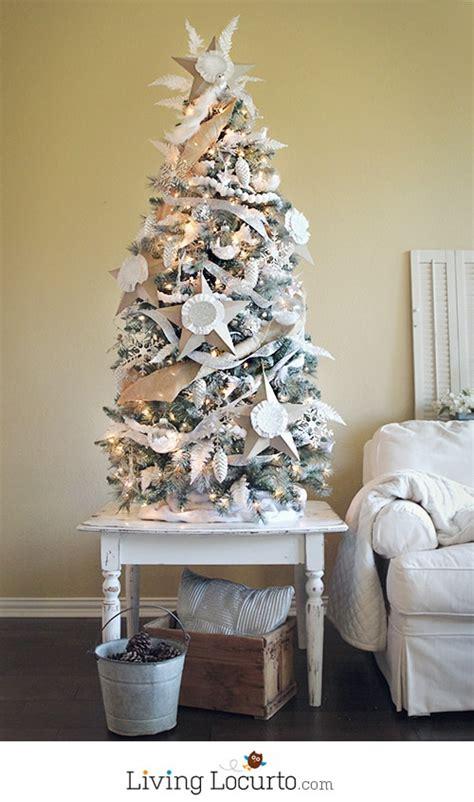 paint  christmas tree white christmas tree challenge