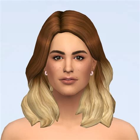 Kate hair Ombre at Rusty Nail » Sims 4 Updates