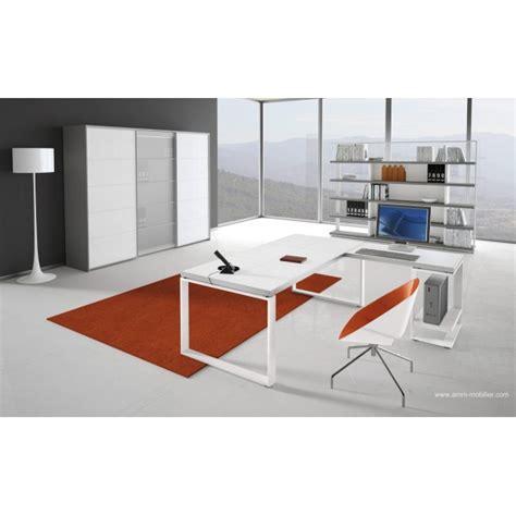fabricant canape italien bureau de direction archimède finition cuir blanc par alea