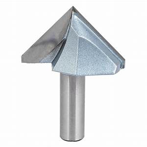 """1/2"""" x 2"""" Carbide Tipped CNC 90 Degree V-Grooving Router"""