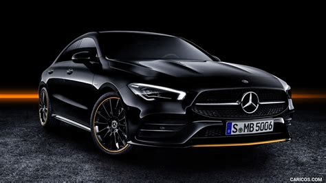 The 5 seater crossover car has 180 mm ground clearance, 2699 mm wheel base and has a fuel tank capacity of. 2020 Mercedes-Benz CLA 250 Coupe Edition Orange Art AMG Line (Color: Cosmos Black) - Front Three ...