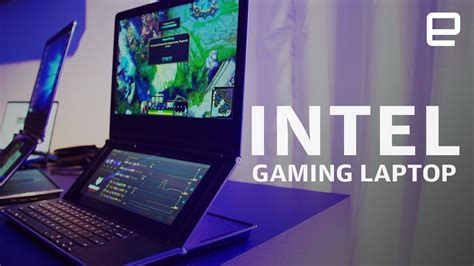 laptop test 2019 intel s gaming laptop prototype is a dual screen pc with a