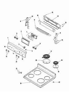 Maytag Model Mer5555qaw Free Standing  Electric Genuine Parts
