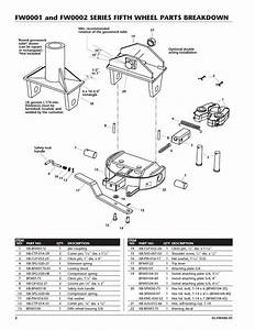 Fifth Wheel Parts Diagram