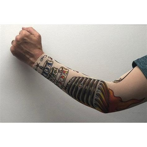 Maybe you would like to learn more about one of these? Rock n Roll Tattoo Sleeve - Costume Shop - CrackerJack ...