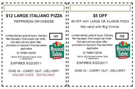 round table pizza placerville ca round table pizza coupons