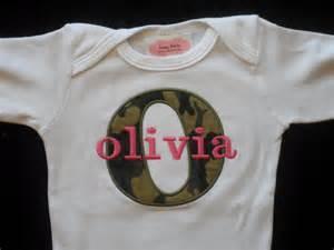 Pink Camo Baby Girl Clothes