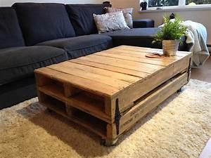 Rustic Storage Coffee Table Set : DIY Secret Rustic