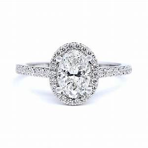 oval diamond engagement rings for that special day With oval shaped wedding ring