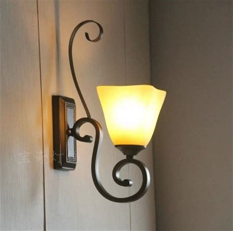 wrought iron wall lights for classic look to your house