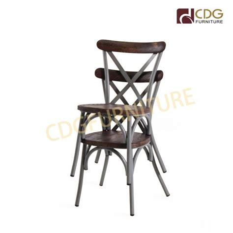 metal    chairs distressed style solid ash wood