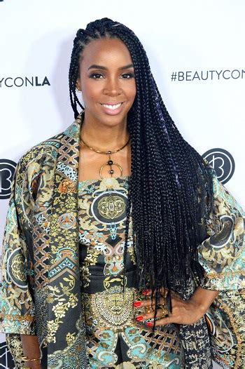 hairstyles kelly rowland long braided hairstyle