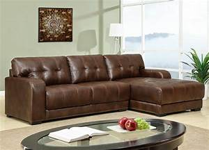 Small sectional sofa with chaise perfect choice for a for Small sectional sofa without chaise
