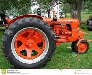 Vintage Case Tractor editorial stock image. Image of ...