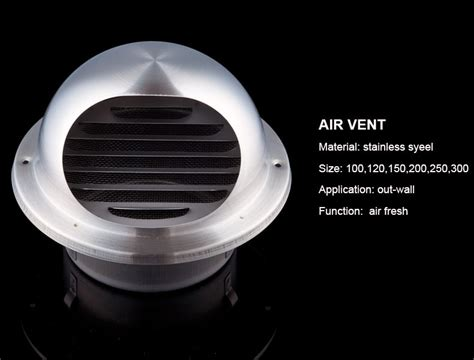 wall stainless steel air vent cap louvred grille buy