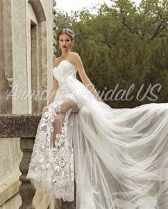 wedding dress lace white off white wedding dress sweep With off white dresses for weddings