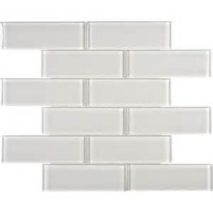 sassi 2x6 arctic fog glass brick mosaics 12 183 home