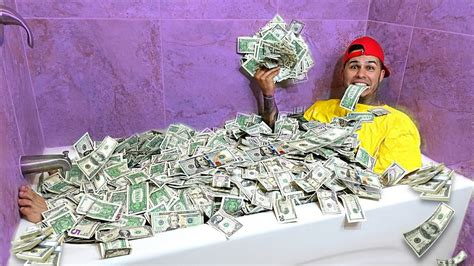 One Million Dollar Bathtub by Taking A Bath In 1 Million Dollars