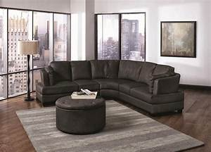 Brown leather sectional sofamodern sectional sofas for Modern sectional sofa clearance