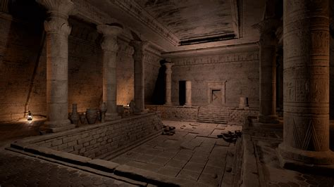 Ancient Egypt Tomb Kit By Yuri Anufriev In Environments