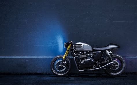 Triumph Thruxton 4k Wallpapers by Triumph Wallpapers And Background Images Stmed Net