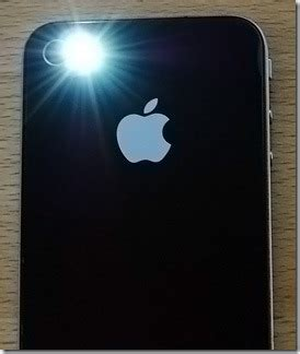 where is flashlight on iphone weeflashlight for iphone led flash from