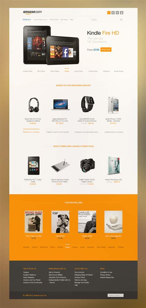 incredible amazon redesign concepts