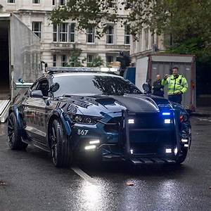 Police Mustang! Transformers 5 #ford #police #mustang #transformers Photo by @thomas.newton ...