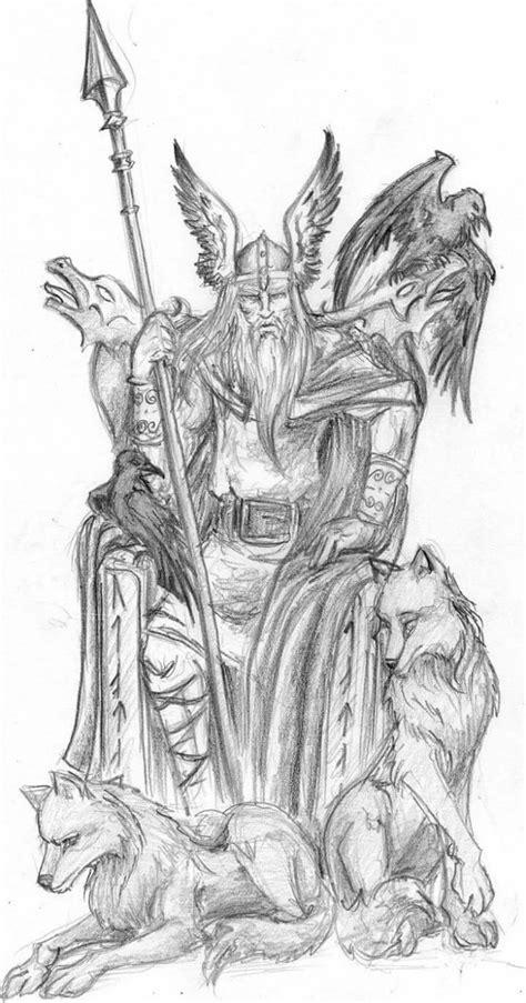 Pin by Melinda Norris on artwork | Viking drawings, Viking art, Norse tattoo