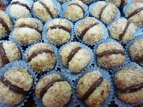 knusprige nusskugeln mit schokoladencreme top rezeptede