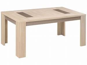 Table Chene Clair : table rectangulaire 180 cm atlanta coloris ch ne clair vente de table de cuisine conforama ~ Teatrodelosmanantiales.com Idées de Décoration