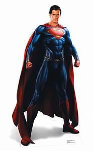Man Of Steel (Superman) LIFESIZE CARDBOARD CUTOUT STANDEE ...  Superman