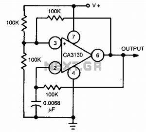 astable oscillator circuit oscillator circuits nextgr With opamp multivibrator